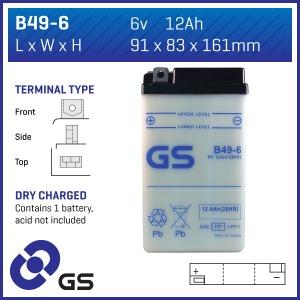 GS Battery B496(DC)  (CASE 10)