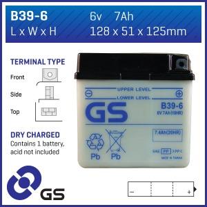 GS Battery B396(DC) (CASE 5)