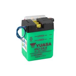 YUASA BATTERY 6N22A8 DC (CASE 10)