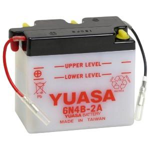 YUASA BATTERY 6N4B2A DC  (CASE 10)