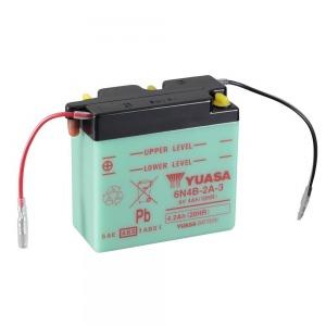 YUASA BATTERY 6N4B2A3 DC  (CASE 10)