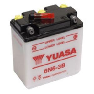 YUASA BATTERY 6N63B DC  (CASE 20)