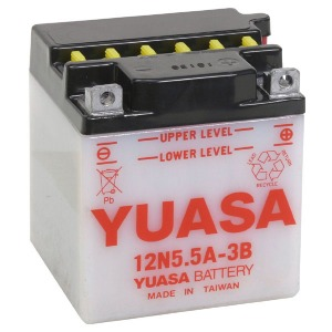 YUASA BATTERY 12N55A3B A/PACK CP  (CASE 6)