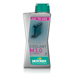 MOTOREX RED COOLANT PRE MIX OAT M3.0 1 LT