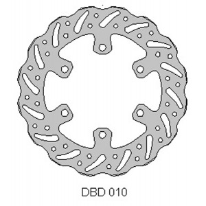 DELTA MX BRAKE DISC FRONT DBD010