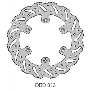 DELTA MX BRAKE DISC REAR DBD013