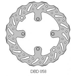 DELTA MX BRAKE DISC FRONT DBD058 2015 KTM SX85 BW