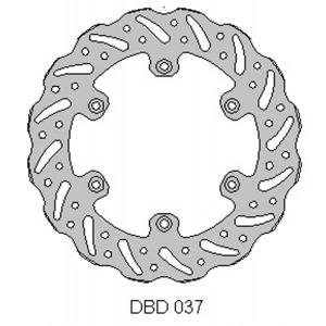 DELTA MX BRAKE DISC REAR DBD037