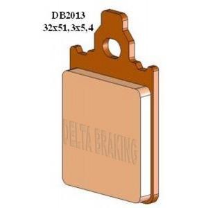 DELTA M1 ORGANIC PADS DB2013 (FA186)