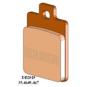 DELTA M1 ORGANIC PADS DB2019 (FA360 VD968)