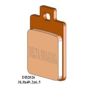 DELTA M1 ORGANIC PADS DB2026 (FA255 VD955)