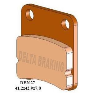 DELTA M1 ORGANIC PADS DB2027 (FA257 VD162)