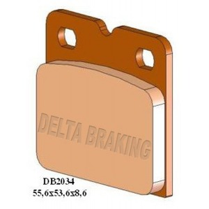 DELTA M1 ORGANIC PADS DB2034 (FA18 VD907 VD913)