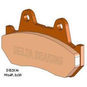 DELTA M1 ORGANIC PADS DB2036 (FA69 VD123 VD132)