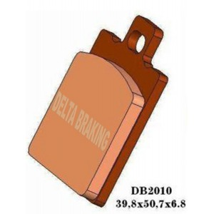 DELTA MXN SINTERED OFF ROAD PADS DB2010 (FA47 VD911)
