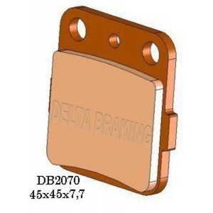 DELTA MXD SINTERED OFF ROAD PADS DB2070 (FA84 VD127 VD128 VD336)