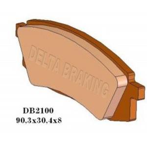 DELTA MXN SINTERED OFF ROAD PADS DB2100 (FA105 VD241)