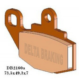 DELTA MXN SINTERED OFF ROAD PADS DB2160 (FA130 VD126 VD428)