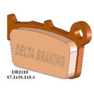 DELTA MXD SINTERED OFF ROAD PADS DB2310 (FA367 VD271)