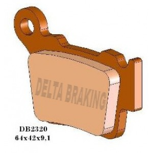DELTA MXD SINTERED OFF ROAD PADS DB2320 (FA368 VD997)