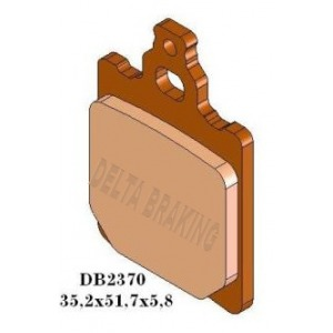 DELTA MXD SINTERED OFF ROAD PADS DB2370 (FA60 FA337 VD920)