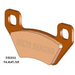 DELTA QDD SINTERED OFF ROAD PADS DB2011 (FA395 VD9023)