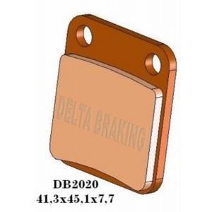 DELTA QDD SINTERED OFF ROAD PADS DB2020 (FA54 VD120 VD333)