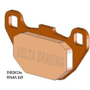 DELTA QDD SINTERED OFF ROAD PADS DB2023 (FA305 VD995)