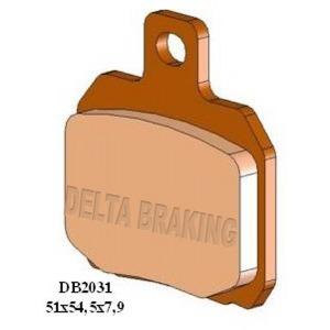 DELTA QDD SINTERED OFF ROAD PADS DB2031 (FA266 VD964)