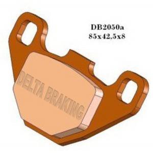 DELTA QDD SINTERED OFF ROAD PADS DB2050 (FA67 FA372 VD425)