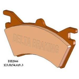 DELTA QDD SINTERED OFF ROAD PADS DB2066 (FA313 VD973)