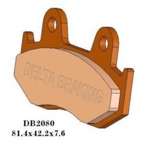DELTA QDD SINTERED OFF ROAD PADS DB2080 (FA92 FA323 VD134)