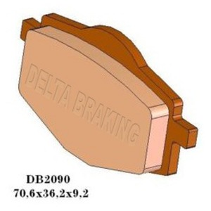 DELTA QDD SINTERED OFF ROAD PADS DB2090 (FA101 VD239)