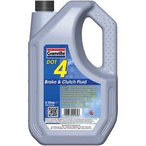 GRANVILLE BRAKE FLUID DOT4 5 LITRE