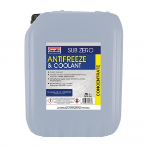 GRANVILLE BLUE COOLANT CONCENTRATE 20 LITRE