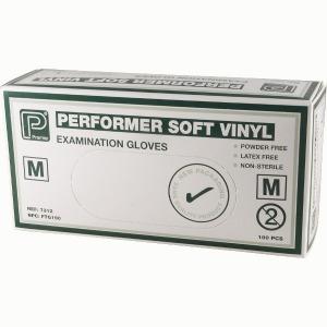 SOFT VINYL GLOVES X LAR 100 PER BOX