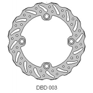 DELTA MX BRAKE DISC REAR DBD003