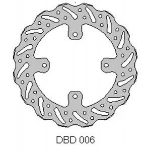 DELTA MX BRAKE DISC REAR DBD006