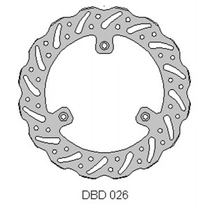 DELTA MX BRAKE DISC FRONT DBD026
