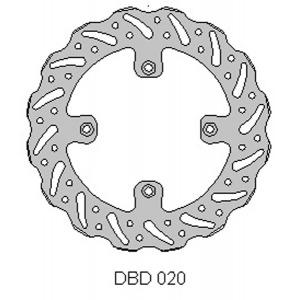 DELTA MX BRAKE DISC REAR DBD020
