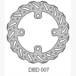 DELTA MX BRAKE DISC FRONT DBD007