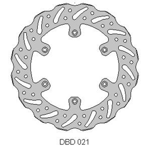 DELTA MX BRAKE DISC FRONT DBD021