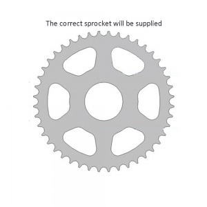1839-56 SPROCKET REAR (J)