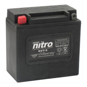NITRO BATTERY HVT 09(YB7A) AGM SEALED Harley OE 66006-70 12V(CASE 6)