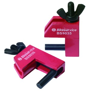 BIKESERVICE TOOLS 2 PC RUBBER LINE CLAMP SET