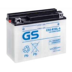 GS BATTERY C50N18LA