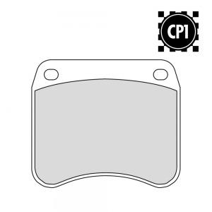 FERODO FDB342 CERAMIC CP1 RACING FA016