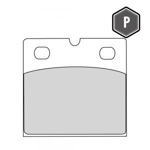 FERODO FDB148 PLATINUM PADS FA18