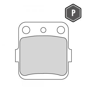 FERODO FDB 661 PLATINUM PADS FA84