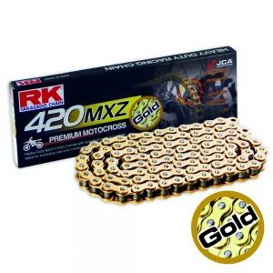CHAIN RK 420MXZ X 130 GOLD